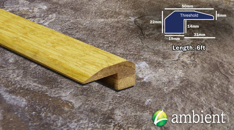 Strand Bamboo Threshold Endcap Natural