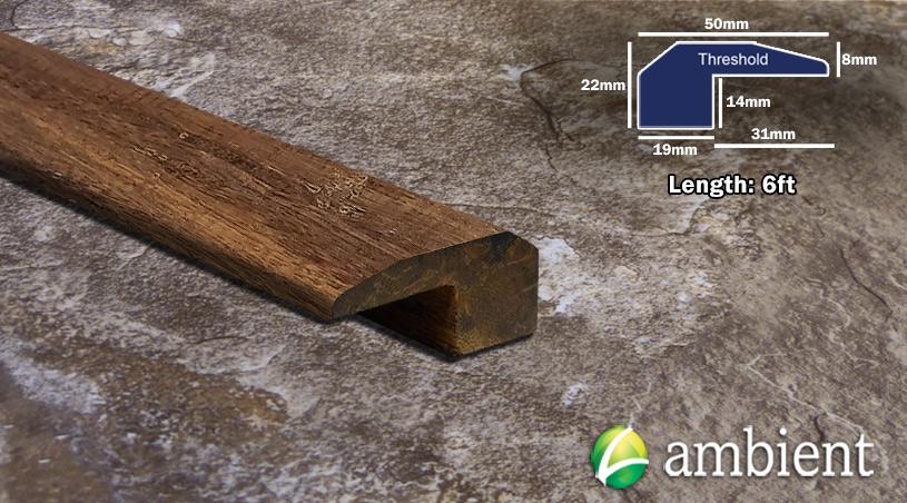 hickory antiqued threshold