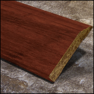 Decorative Wall Base Solid Base Board Bamboo Cinnamon  T