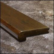 Eucalyptus Stair Bull Nose Cafe Brown Dist4ft99  T