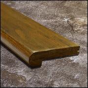 Eucalyptus Stair Nosing Bull Nose Aged Bourbon Dist124ft T