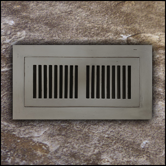 Register Vent Flush Mount Bamboo4x12 Ashwood T