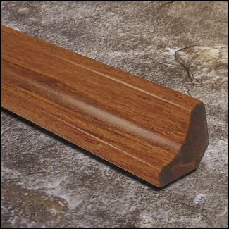 Strand Bamboo Stair Cove Molding Carbonized8283 T