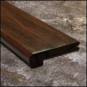 Strand Bamboo Stair Nosing Toasted Almond  T