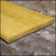 Strand Bamboo Stair Tread Flat Sides72inch Natural T