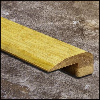 Strand Bamboo Threshold Endcap Natural  T