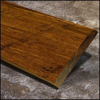 Bamboo Baseboard Wall Base Carbonized Antiqued  T
