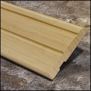 Bamboo Baseboard Wall Base Natural Vertical  T
