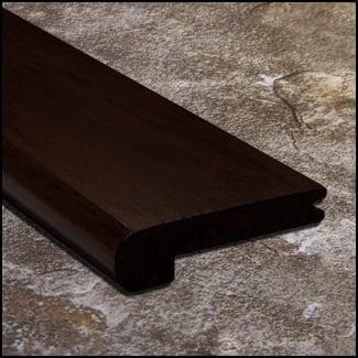 Eucalyptus Stair Nosing Bull Nose Cocoa Bean Dist12mm  T