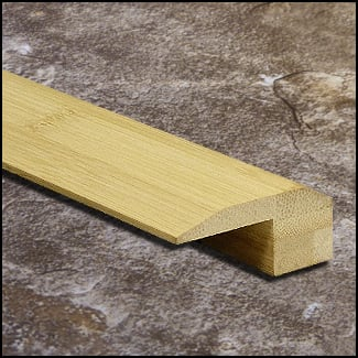 Horizontal Bamboo Threshold Endcap Natural T