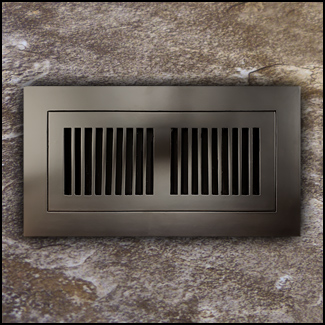 Register Vent Flush Mount Bamboo4x12 Java T