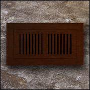 Register Vent Flush Mount Bamboo4x20 Amber Distressed  T