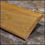 Strand Bamboo Baseboard Wall Base Natural Dec D  T