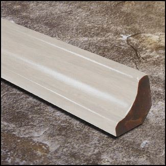 Strand Bamboo Stair Cove Molding Ivory9874 T