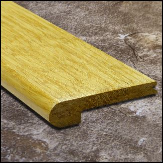 Strand Bamboo Stair Nosing Bull Nose Natural10mm  T