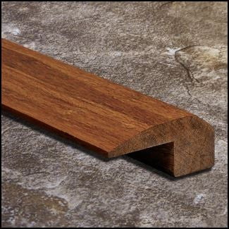 Strand Bamboo Threshold Endcap Carbonized  T