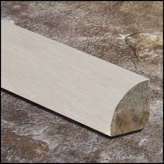 Strand Ivory Distressed Quarter Round Molding T