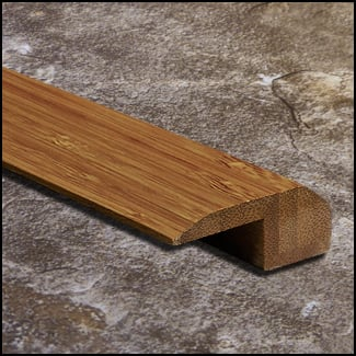 Vertical Bamboo Threshold Endcap Carbonized T