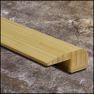 Vertical Bamboo Threshold Endcap Natural T