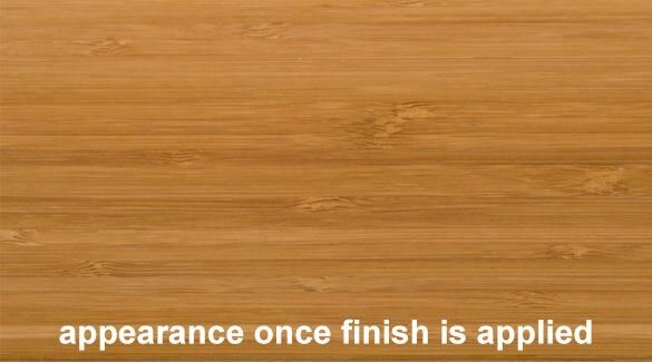 Carbonized Vertical Edge Grain Bamboo Plywood Sheet Finish