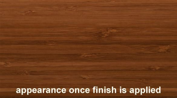 Java Vertical Edge Grain Bamboo Plywood Sheet Finish