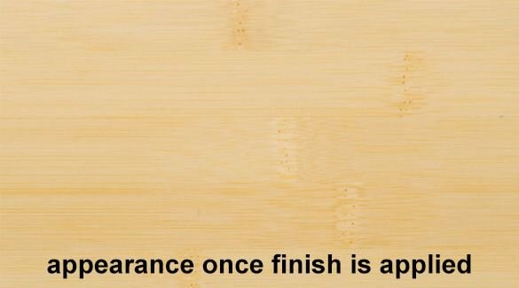 Natural Horizontal Bamboo Plywood Sheetwith Finish