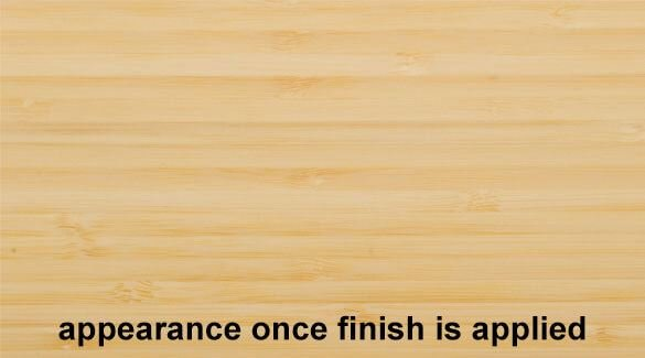 Natural Vertical Bamboo Plywood Hardwood Sheetwith Finish