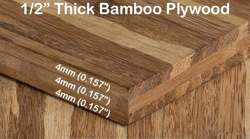 Strand Tiger Bamboo Hardwood Plywood Sheetwith Diagram