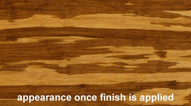 Strand Tiger Bamboo Hardwood Plywood Sheetwith Finish