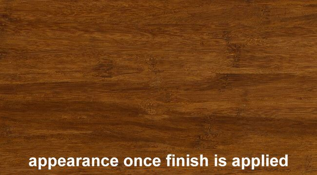 Strand Woven Carbonized Bamboo Plywood Hardwood Sheetwith Finish