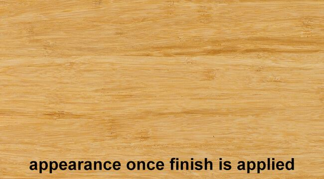Stranded Natural Bamboo Hardwood Plywood Sheetwith Finish