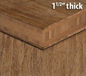 Strand Woven Carbonized Unfinished Bamboo Plywood Hardwood Sheet Thumb1 1 2 Inch