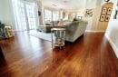 Cafe Brown Antiqued Eucalyptus Flooring